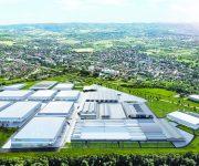 Pobeda industrijski park sa skladistima