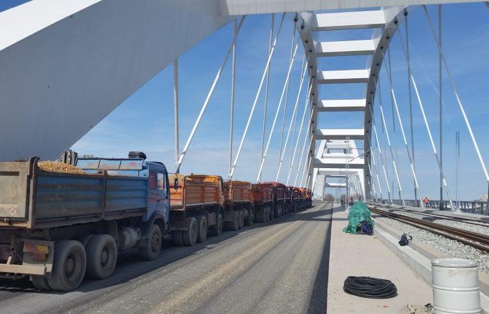 Ispitivanje Zezeljevog mosta preko Dunava