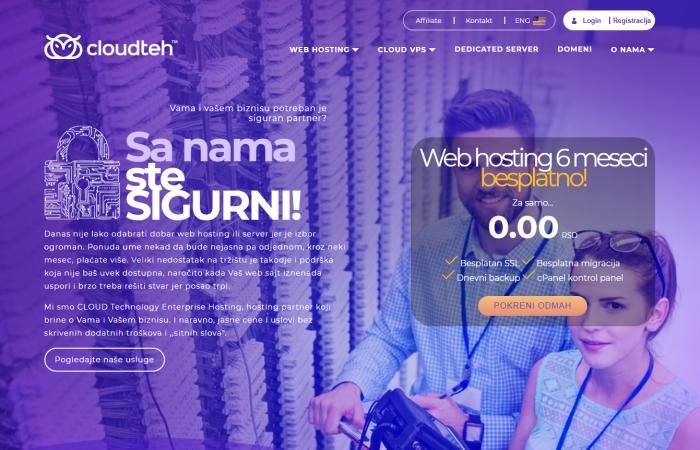 Cloudteh hosting provajder