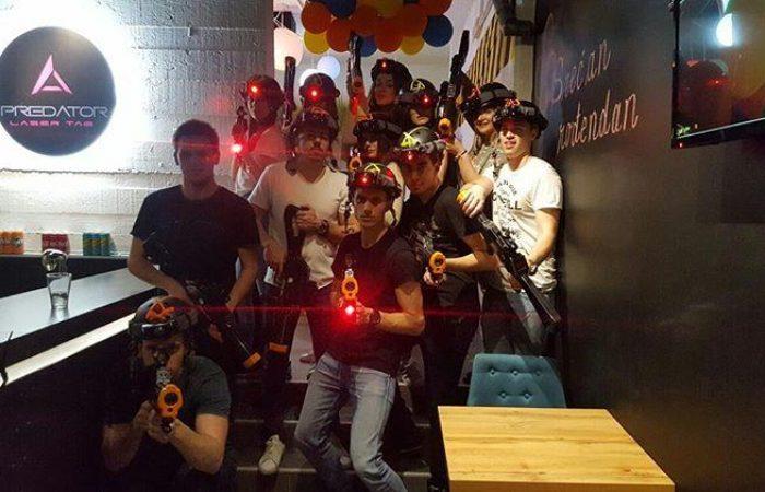 Predato laser tag igraonica Beograd